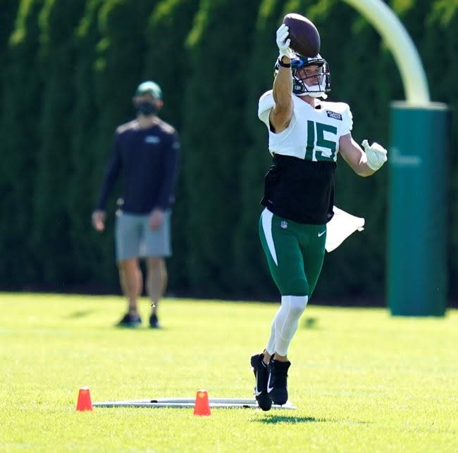 Hogan home with Jets, but driven by desire to prove himself