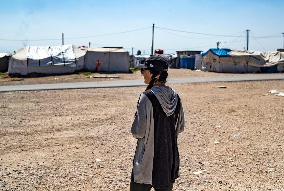 <p>Of the 800 Britons who travelled to Isis territory, only 25 adults and 34 children remain</p> (AFP via Getty Images)