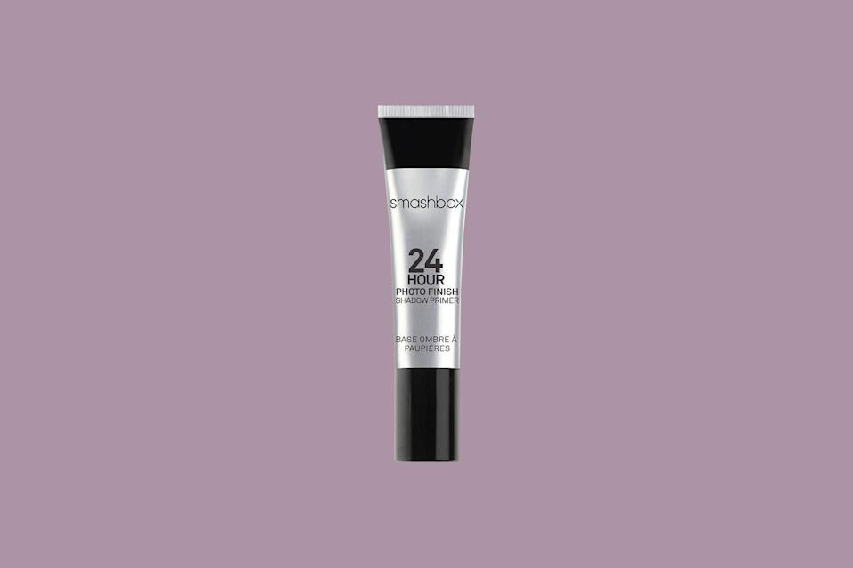 "<p>Blend this best-selling primer onto your lids and you can look forward to less fallout and longer wear. The coveted formula is even sweat- and <a href=""https://www.marthastewart.com/1119460/how-care-humid-home-and-find-relief"" rel=""nofollow noopener"" target=""_blank"" data-ylk=""slk:humidity-proof"" class=""link rapid-noclick-resp"">humidity-proof</a>, so it can stand up to just about anything.</p> <p><strong><em>Shop Now: </em></strong><em>Smashbox 24 Hour Photo Finish Eyeshadow Primer, $22, </em><a href=""https://shop-links.co/1716900123472081859"" rel=""nofollow noopener"" target=""_blank"" data-ylk=""slk:ulta.com"" class=""link rapid-noclick-resp""><em>ulta.com</em></a><em>.</em></p>"