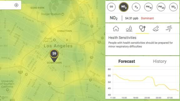 This Realtime Pollution Map Will Enlighten You On Your Citys Air - Air quailty map us
