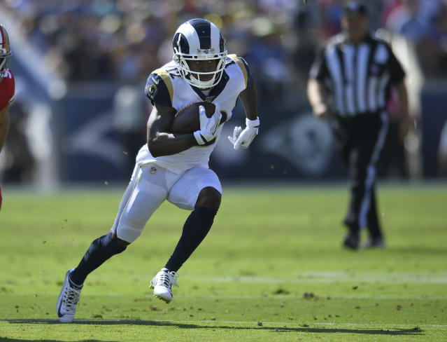 Brandin Cooks is visiting a concussion specialist. (Getty Images)