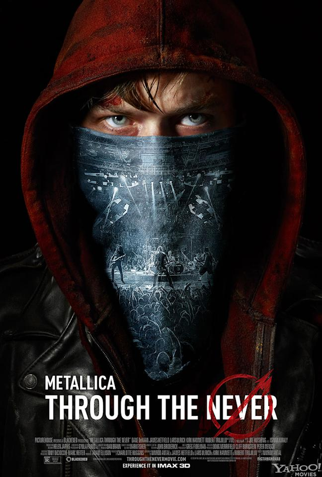 "Dane DeHaan stars in Picturehouse's ""Metallica Through the Never"" - 2013"