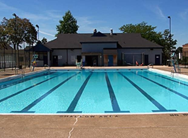 Lanspeary Pool, one of six outdoor municipal pools, is shown in an image from the City of Windsor. (City of Windsor - image credit)