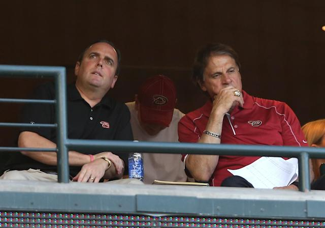 Tony La Russa's hiring casts doubt on direction of Diamondbacks