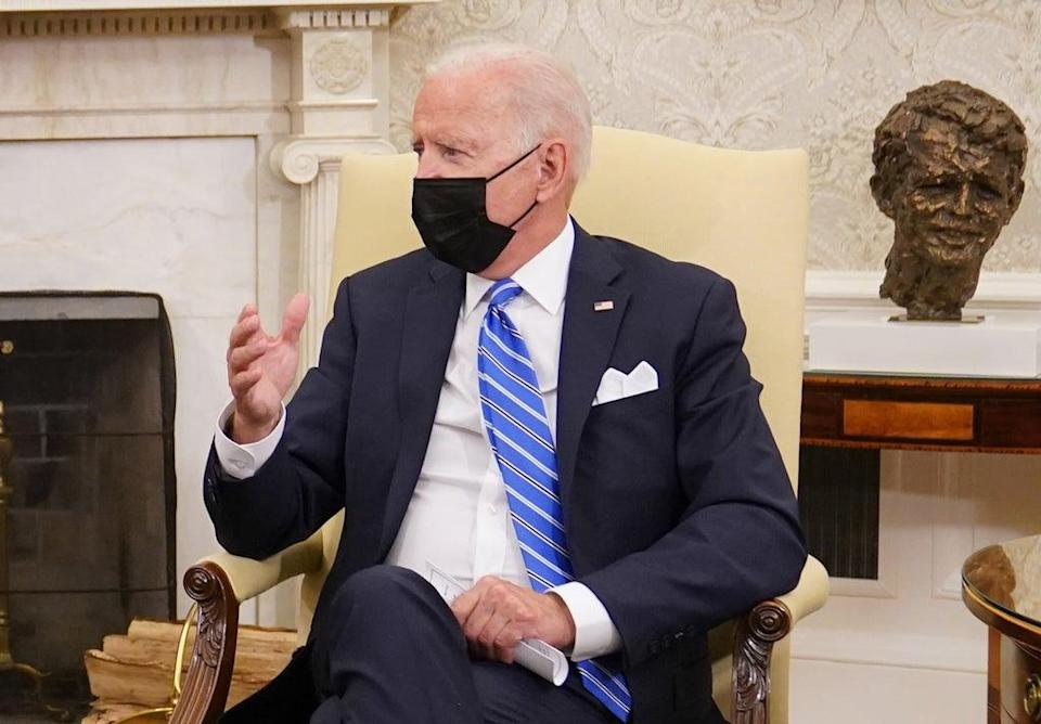 US President Joe Biden suggested he wanted to travel to Scotland in November for the Cop26 climate talks (Stefan Rousseau/PA) (PA Wire)