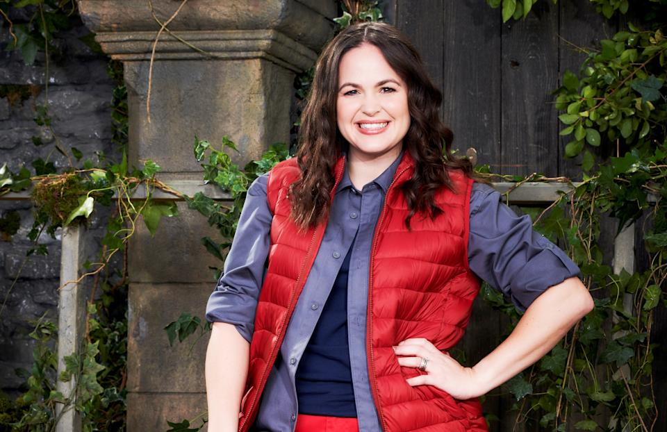 Giovanna Fletcher is taking part in 'I'm A Celebrity... Get Me Out Of Here!' 2020 (ITV)