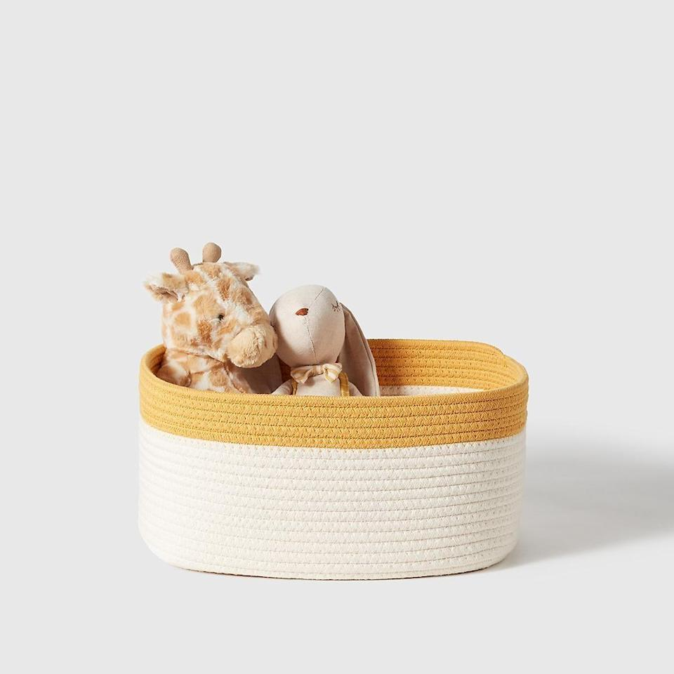 """<p>containerstore.com</p><p><strong>$19.99</strong></p><p><a href=""""https://go.redirectingat.com?id=74968X1596630&url=https%3A%2F%2Fwww.containerstore.com%2Fcategory%2FmarieKondoCollection%2FshopAll%3FproductId%3D11014886&sref=https%3A%2F%2Fwww.housebeautiful.com%2Fshopping%2Fhome-accessories%2Fg35192810%2Fmarie-kondos-container-store-products%2F"""" rel=""""nofollow noopener"""" target=""""_blank"""" data-ylk=""""slk:BUY NOW"""" class=""""link rapid-noclick-resp"""">BUY NOW</a></p>"""