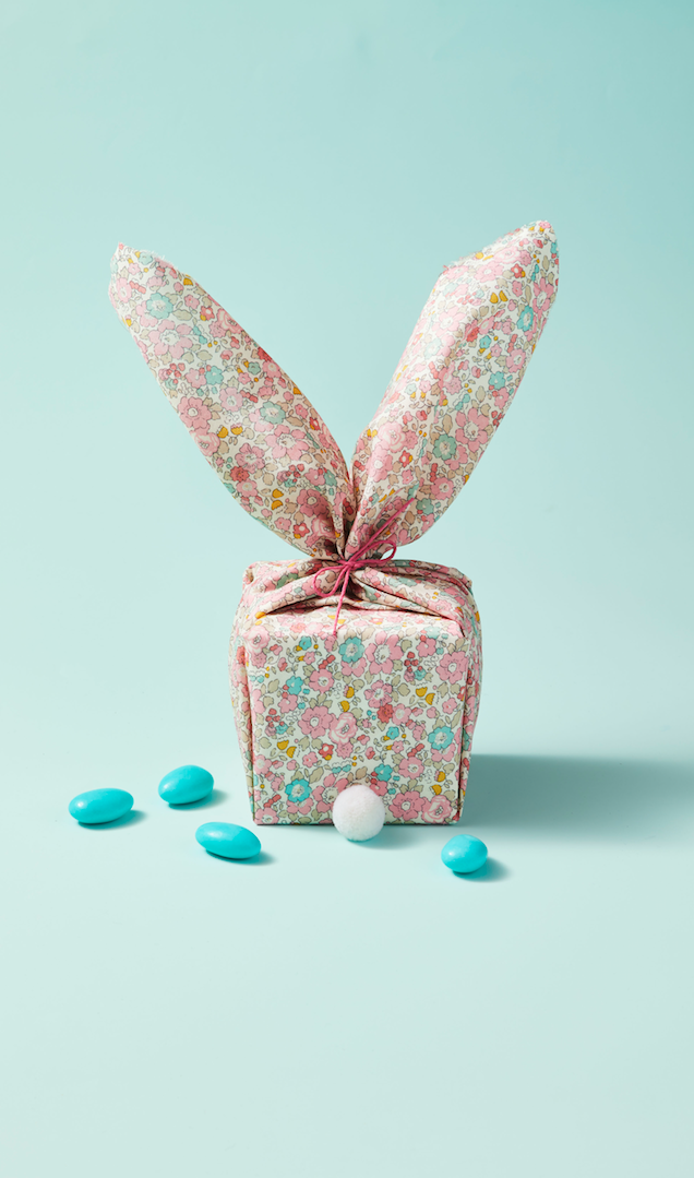 <p>Bunnies of all shapes and sizes are a staple for Easter. Create this simple DIY inspired by our furry friends, complete with fluffy ears and a cute pom-pom tail! </p>