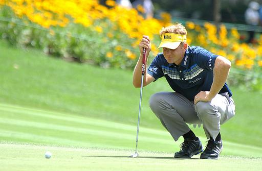 Navy vet Billy Hurley takes Greenbrier lead