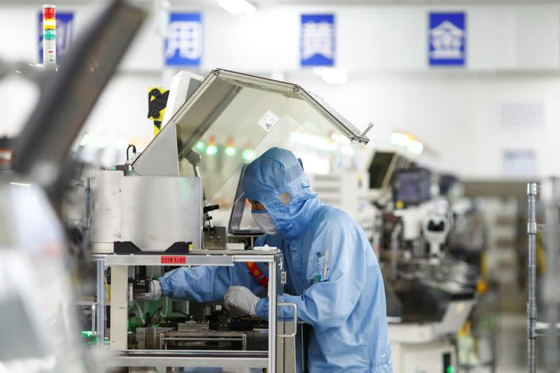 China's factories accelerate recovery in July as demand perks up