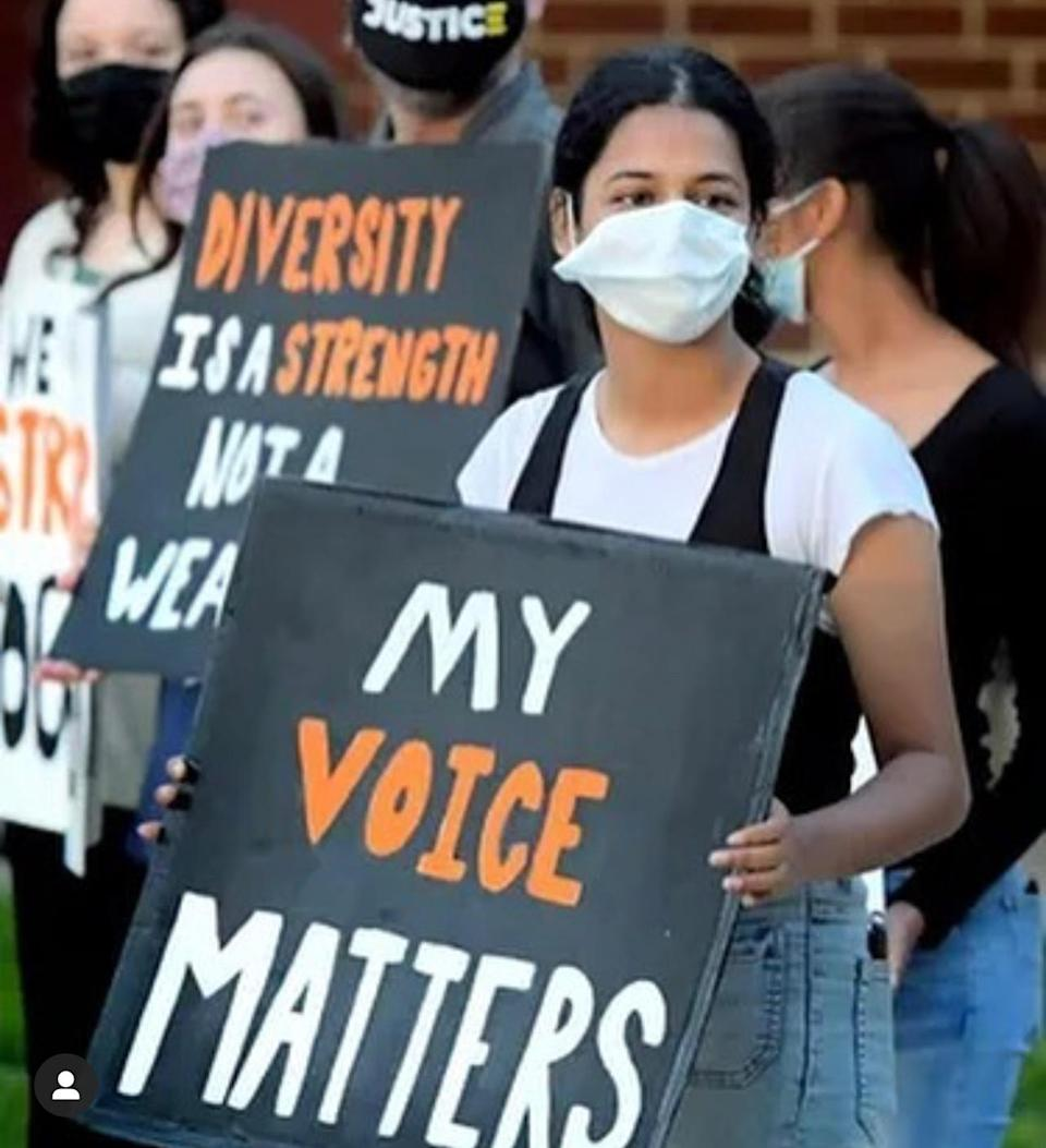 Students held frequent protests against a Central York School District resource ban — which was reversed under pressure with a unanimous vote on Monday night.