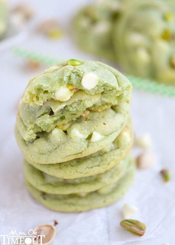 "<p>Forget green food dye, these nutty cookie-meet-pudding hybrids are dyed green the natural way.</p><p><a href=""http://www.momontimeout.com/2015/03/pistachio-and-white-chocolate-pudding-cookies-recipe/"" rel=""nofollow noopener"" target=""_blank"" data-ylk=""slk:Get the recipe from Mom on Time Out »"" class=""link rapid-noclick-resp""><em>Get the recipe from Mom on Time Out »</em></a></p>"