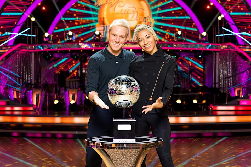 Jamie Laing and Karen Hauer