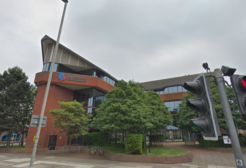 The Waterhole Bar at the University of Portsmouth has been shut down. (Google)