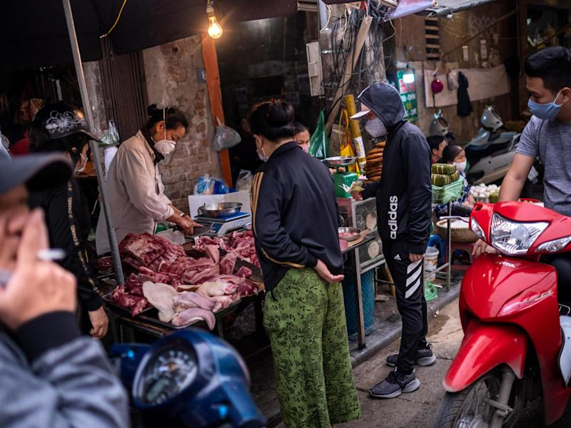 Stalls selling animals and their body parts have been linked with the emergence of diseases: Getty