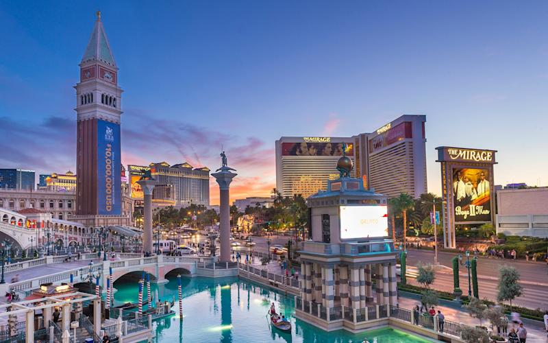 Vegas and Venice – worlds apart? Or secret soulmates? - Getty