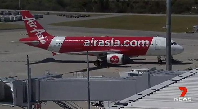 AirAsia said there was a mechanical issue. Source: 7 News