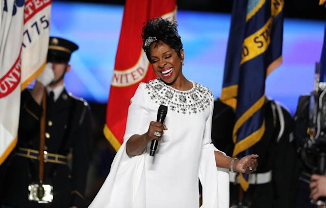 Gladys Knight had a gem of an anthem, but how long was it? (Getty)
