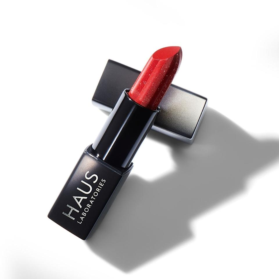 """<p>Within 24 hours of Haus Laboratories launching its new Sparkle Lipstick in late November, it was already <a href=""""https://www.allure.com/story/lady-gaga-haus-labs-sparkle-lipstick-holiday-amazon?mbid=synd_yahoo_rss"""">a best-seller on Amazon</a>. And why wouldn't it be? It's a glittering upgrade to classic red that begs to be worn to a party, and its vanilla scent will have you reaching for it well into the new year.</p> <p><strong>$20</strong> (<a href=""""https://www.amazon.com/HAUS-LABORATORIES-Lady-Gaga-LIMITED/dp/B07YHL83HW"""" rel=""""nofollow"""">Shop Now</a>)</p>"""