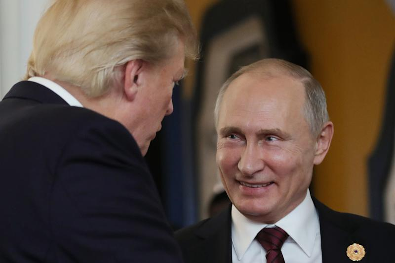 Donald Trumps  Handwritten Invitation To Vladimir Putin Is Surely Just A Coincidence
