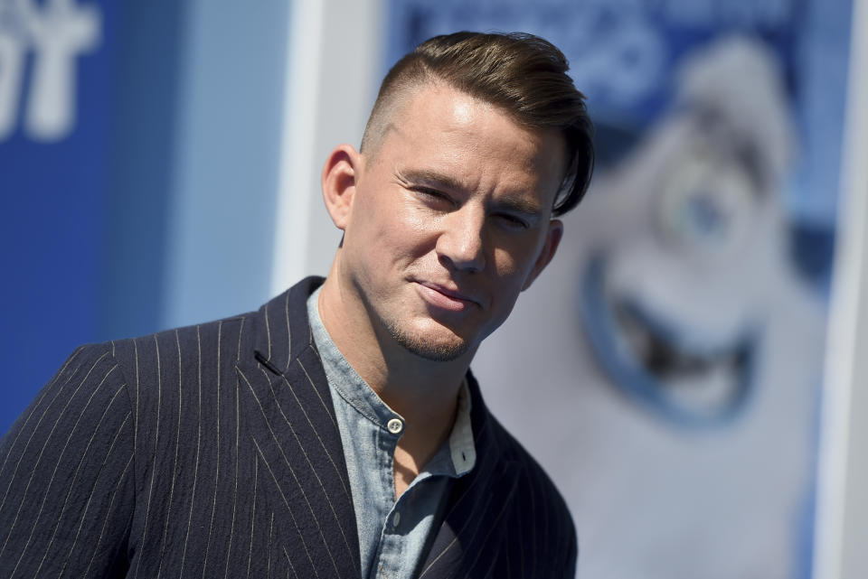 Channing Tatum arrives at the world premiere of