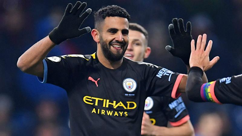 Manchester City's Mahrez achieves personal best with Brighton assist