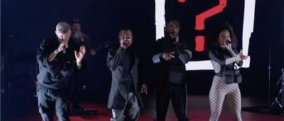 Black Eyed Peas perform Where is the Love