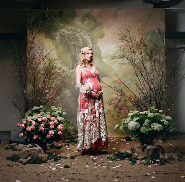 Kirsten Dunst looks stunning in a new Rodarte ad. (Photo: Autumn de Wilde for Rodarte)