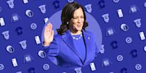 <p>When Kamala Harris was sworn in on Jan. 20, 2021, she made history as not only America's first woman to become Vice President, but America's first Black person and first person of Asian decent to be appointed, too. If anything is worth honoring, it's a properly shattered glass ceiling. </p><p>This is a moment we want to remember forever. We love this collection of clothes, artwork, mugs, accessories, and jewelry that celebrate the new Madam Vice President, and the inspiration she provides to so many.</p>