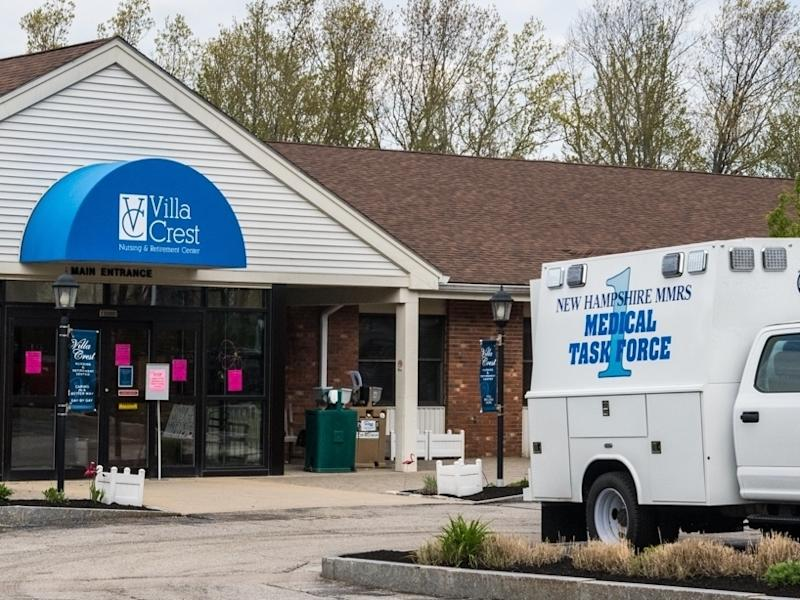 According to state health officials, 51 residents and employees of the Villa Crest Nursing and Retirement Center in Manchester are infected with COVID-19.