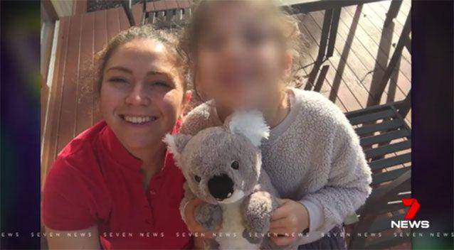 Melbourne mother Arzu Baglar. Picture: 7 News