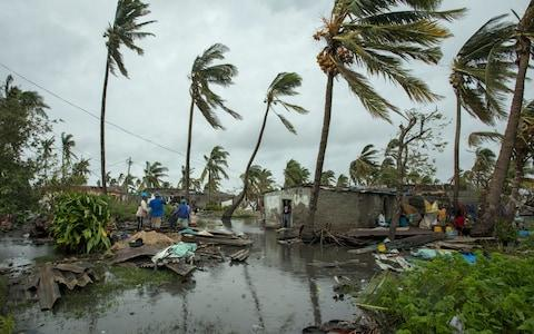 Up to 95% of homes in Beira, Mozambique have been devastated - Credit:  Josh Estey/ CARE