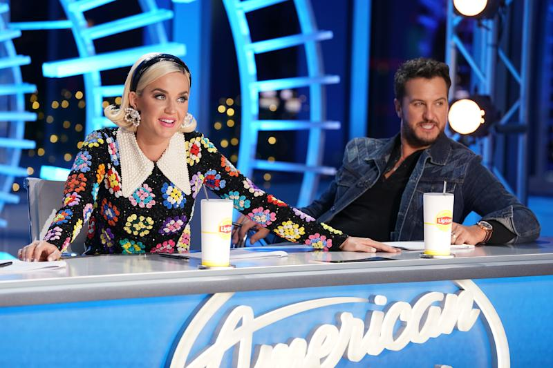 AMERICAN IDOL - Episode TBD (Eric McCandless/ABC via Getty Images) KATY PERRY, LUKE BRYAN