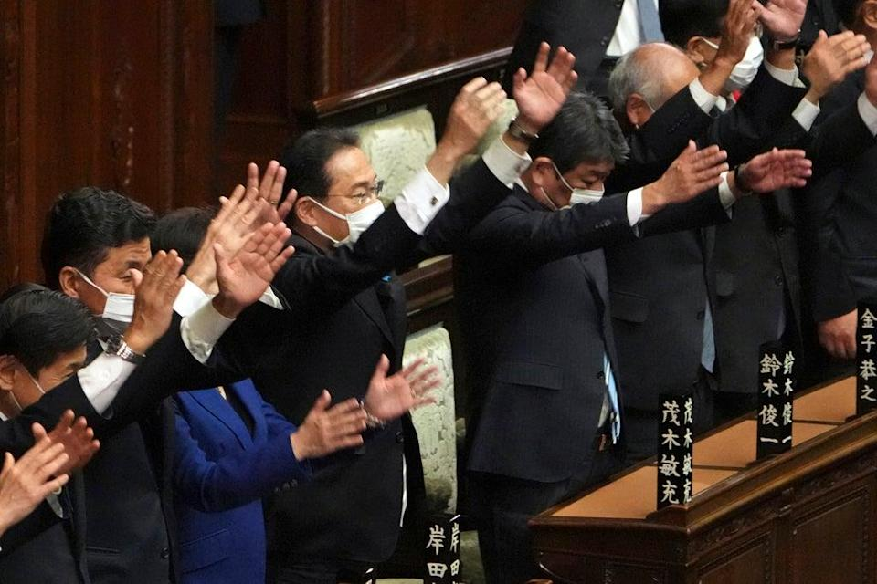Japan Politics (Copyright 2021 The Associated Press. All rights reserved)