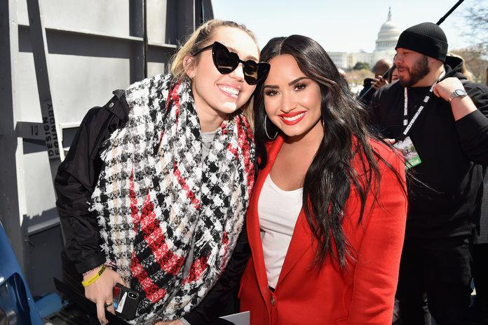 Miley Cyrus and Demi Lovato open up about their renewed friendship