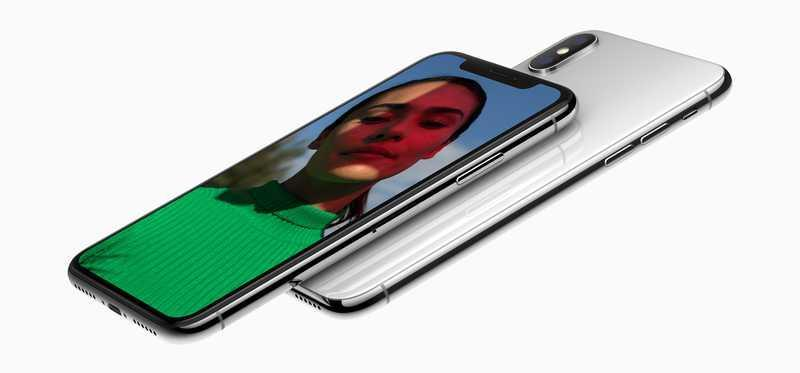 front and back of Apple iPhone X