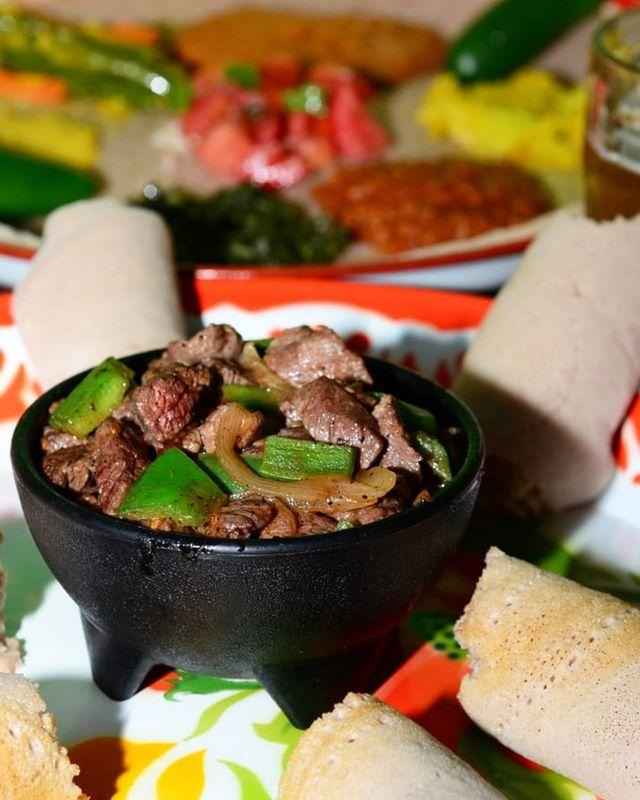 """<p>Offering authentic Ethiopian meals packed with flavor ,Mahider Ethiopian Restaurant & Market utilizes fresh ingredients that transport you right to the streets of Ethiopia. Opened in 2008, the popular restaurant has given Salt Lake City a true cultural experience filled with traditional cuisine options. The<a href=""""https://www.yelp.com/biz/mahider-ethiopian-restaurant-salt-lake-city?osq=Mahider+Ethiopian+Restaurant+%26+Market"""" rel=""""nofollow noopener"""" target=""""_blank"""" data-ylk=""""slk:items to choose from on the menu"""" class=""""link rapid-noclick-resp""""> items to choose from on the menu</a> are plentiful — including vegan, vegetarian, and gluten free options — and the portions are generous.</p><p><a href=""""https://www.instagram.com/p/B1O5nydFZ-X/"""" rel=""""nofollow noopener"""" target=""""_blank"""" data-ylk=""""slk:See the original post on Instagram"""" class=""""link rapid-noclick-resp"""">See the original post on Instagram</a></p>"""