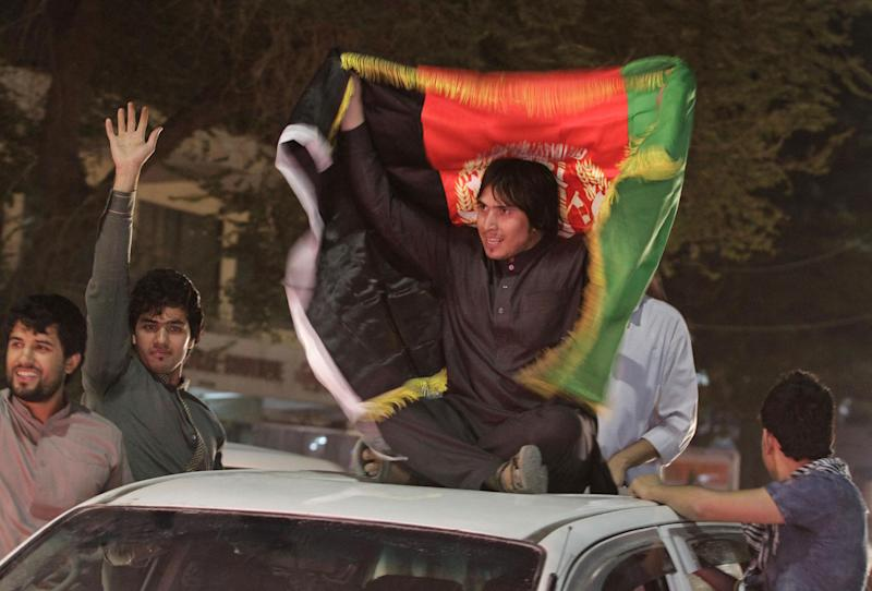 War-weary Afghans revel in soccer victory