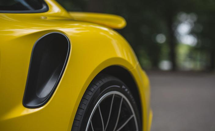 <p>When cruising along the highway at 70 mph, the interior noise level in the Turbo S is a very pleasant 76 decibels.</p>