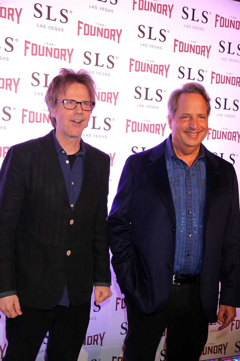 Dana Carvey, Jon Lovitz attending Comedic Icons DANA CARVEY and JON LOVITZ Kick Off Hilarious Comedy Residency at The Foundry, SLS Hotel & Casino, Las Vegas, Nv