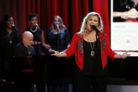 Kelly Clarkson, the only two-time winner in the category of Best Pop Vocal Album, may become a threepeat winner in that category. She won 10 years ago for Breakaway and again three years ago for Stronger. She's nominated this year for Piece by Piece. Odds of this happening: Virtually nil. Taylor Swift is likely to win that award. If Swift falters, it will probably go to either James Taylor or Florence + The Machine.