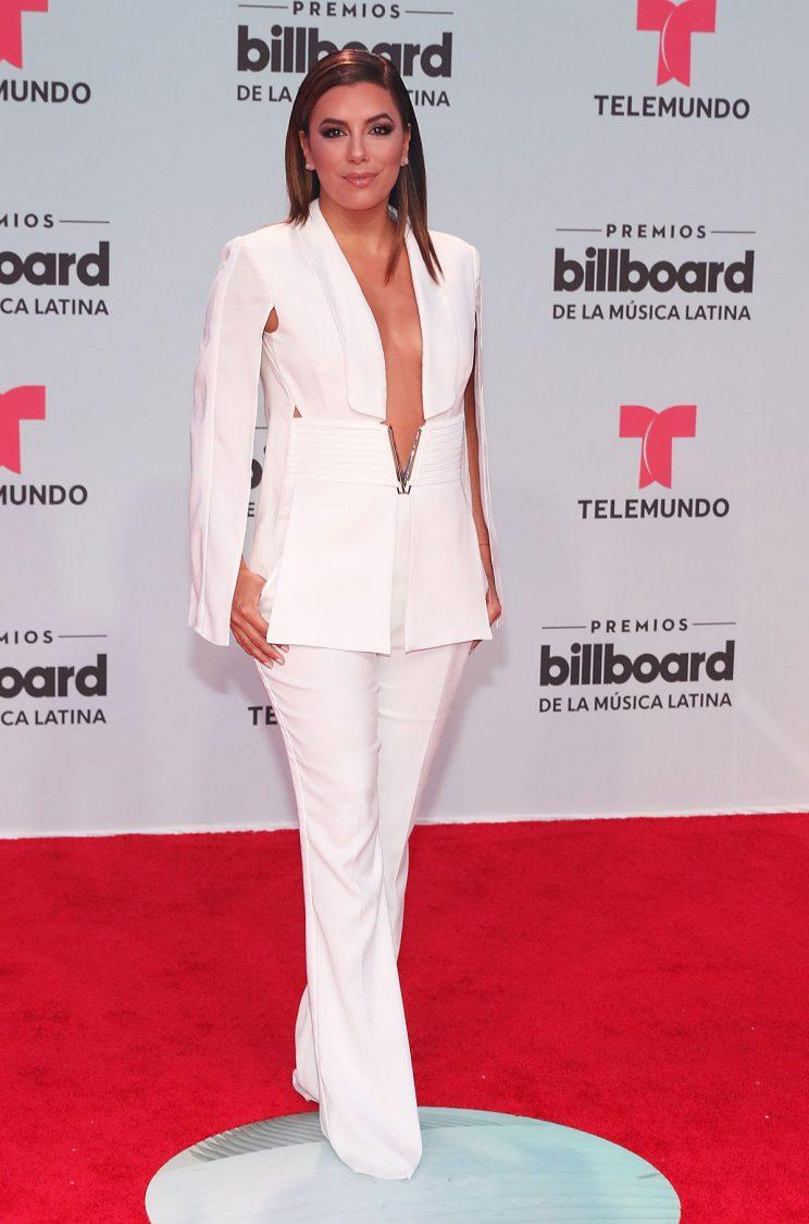 Eva Longoria attends Billboard Latin Music Awards - Arrivals at Watsco Center on April 27, 2017 in Coral Gables, Florida. (Photo: Getty Images)