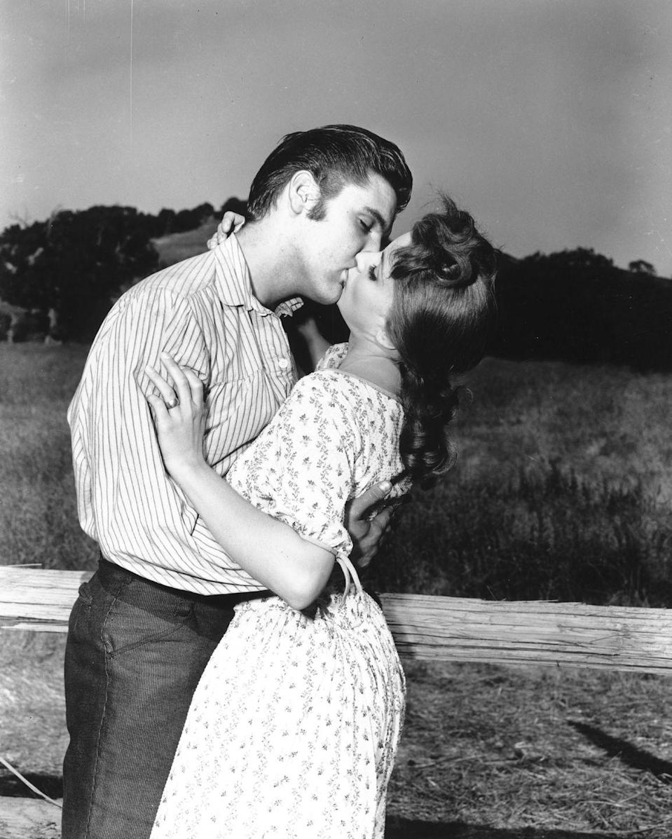 <p>Presley made his on-screen debut in <em>Love Me Tender</em>, which was a hit at the box office. Presley's move into film was huge for his career and, by the end of the year, he was one of the most high-profile celebrities of the decade. </p>