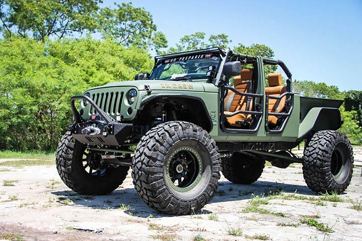 The Jk Crew Is A Jeep Wrangler Cranked Up To 11