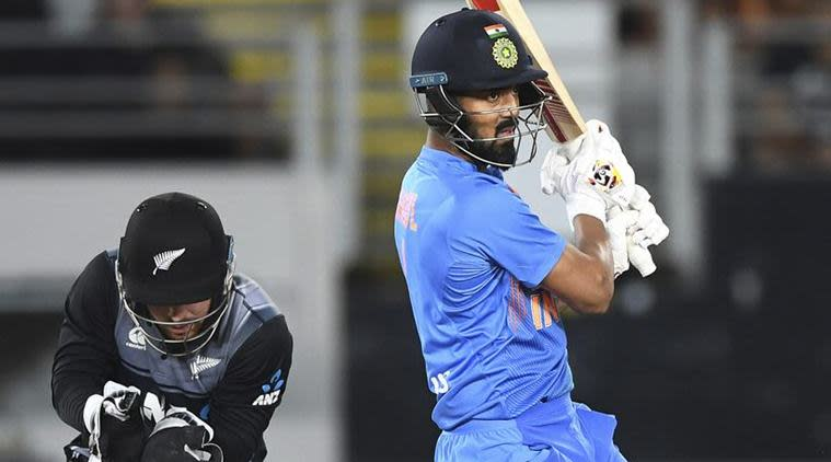 KL Rahul, KL Rahul wicketkeeping, KL Rahul wicketkeeper, KL Rahul 56, India vs New Zealand 1st T20I, Auckland T20I, India tour of New Zealand 2020