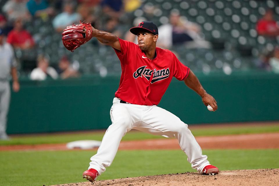 Anthony Gose, a former major-league outfielder who made his debut as an MLB pitcher on Monday, was 6-1 with a 3.55 ERA with the Clippers this season.