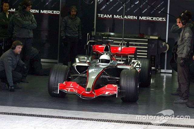 "Fernando Alonso, McLaren Mercedes MP4/21 <span class=""copyright"">Sutton Motorsport Images</span>"