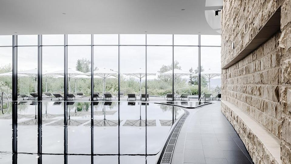 Guests of the Dolder can enjoy the award-winning 43,000-square-foot spa. - Credit: The Dolder Grand