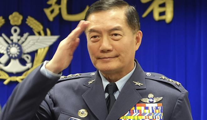 Chief of General Staff Shen Yi-ming, 62, was said to be well respected by both his peers and subordinates. Photo: AP