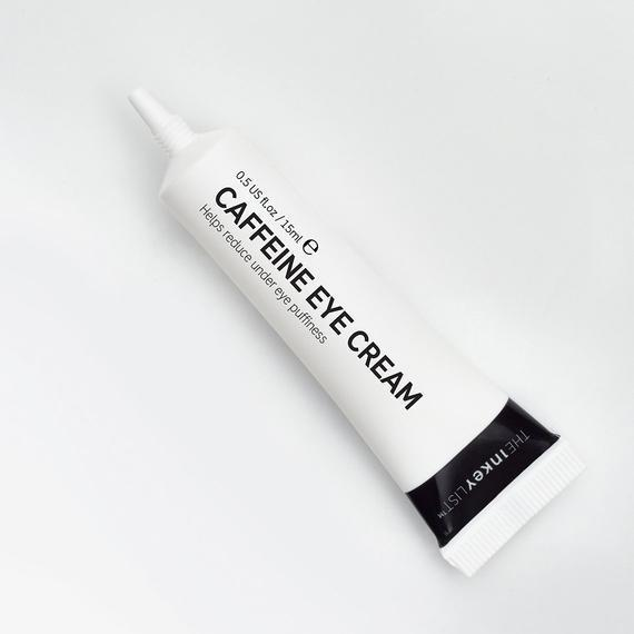 """The Caffeine Eye Cream does for your eyes what a cup of coffee does for the rest of you: make you look more awake. The formula is made up of caffeine that reduces puffiness and Matrixyl 3000, a peptide that cosmetic chemist <a href=""""https://www.instagram.com/thebeautysharkginger/?hl=en"""" rel=""""nofollow noopener"""" target=""""_blank"""" data-ylk=""""slk:Ginger King"""" class=""""link rapid-noclick-resp"""">Ginger King</a> says will help to boost collagen to firm up the skin and minimize fine lines. When the two are combined, you'll be looking like you had a full night's rest (even if you didn't). $10, Sephora. <a href=""""https://shop-links.co/1736505797579543151"""" rel=""""nofollow noopener"""" target=""""_blank"""" data-ylk=""""slk:Get it now!"""" class=""""link rapid-noclick-resp"""">Get it now!</a>"""